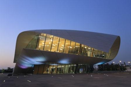 Exterior of the Etihad Museum, Dubai