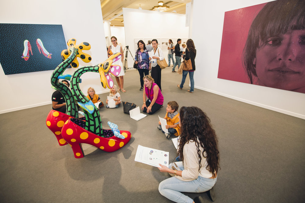 Art Dubai 2015; The Sheikha Manal Little Artists Program; Discovery Tours; HR (15).jpg