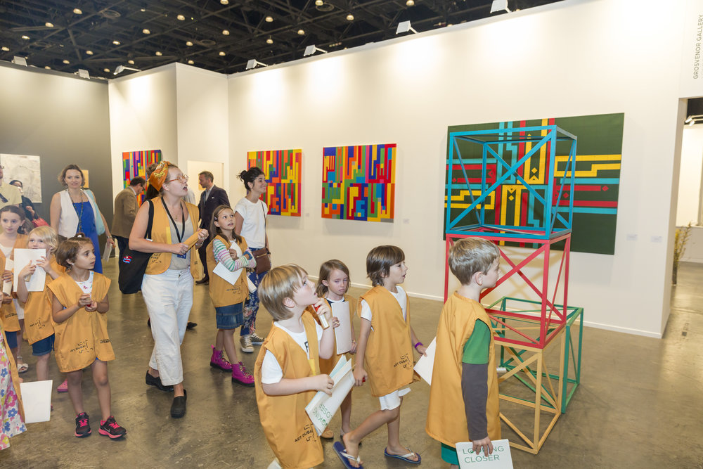Art Dubai 2015; The Sheikha Manal Little Artists Program; Discovery Tours; HR (43).jpg