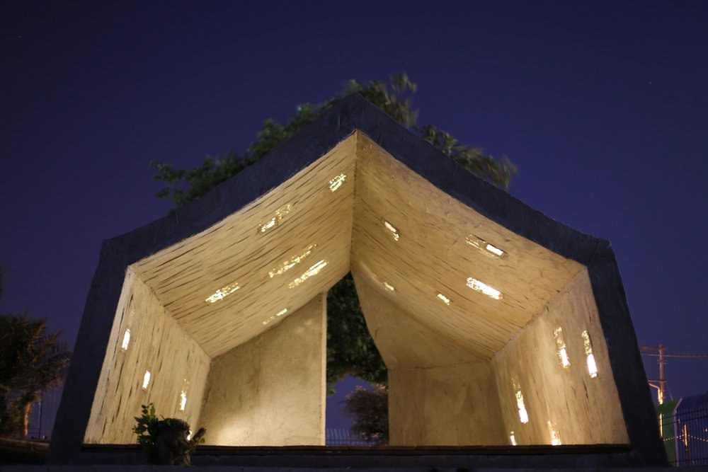Concrete Tent - Design by DAAR - Photos Anna Sara for Campus in Camps NYU Art Gallery.jpg
