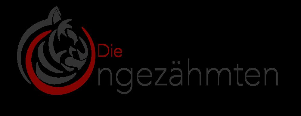 """Das neue Logo der Linzer Improvisationstheatergruppe """"Die Ungezähmten"""""""