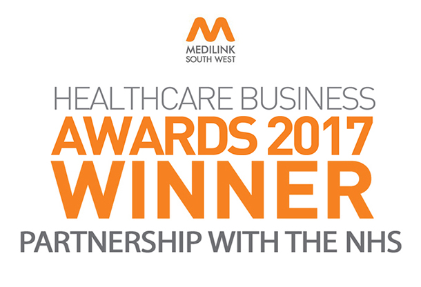 Medilink Southwest Healthcare Business Awards Partnership with the NHS 2017