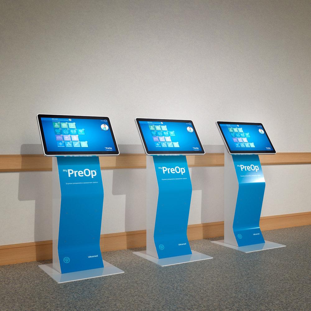 Ultramed Preop Assessment Kiosk