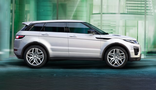 PRE OWNED RANGE ROVER EVOQUE >