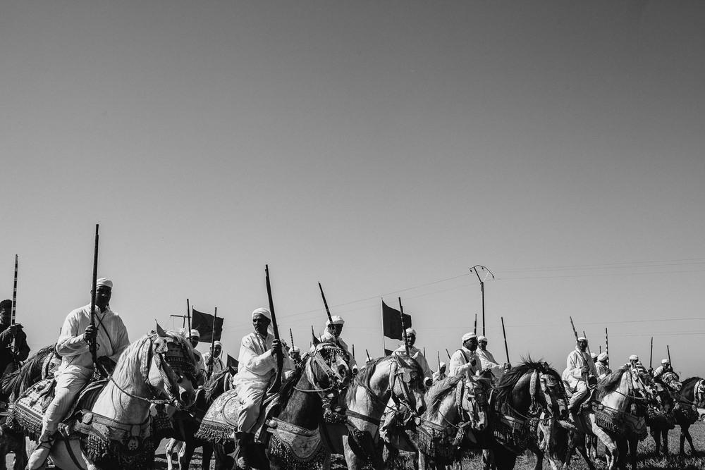 Along Meknes, Morocco. 2012.