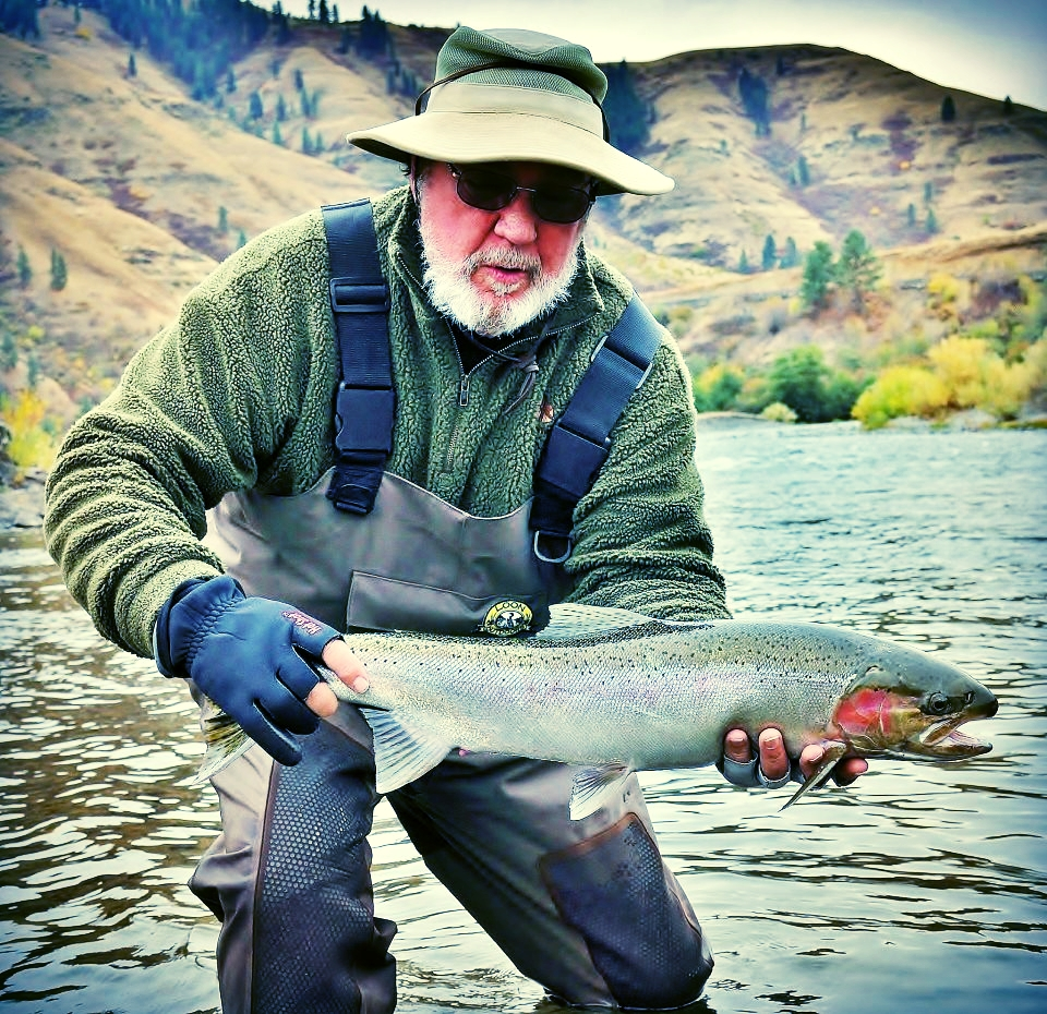 Charlie White and a beautiful Grande Ronde steelhead