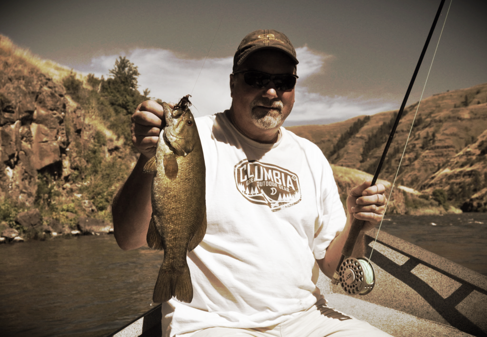 Summer Smallmouth on the Grande Ronde with Tyler shredding it like cheese as usual!