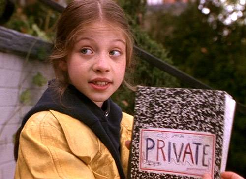 Michelle Trachtenberg in Nickelodeon's  Harriet The Spy