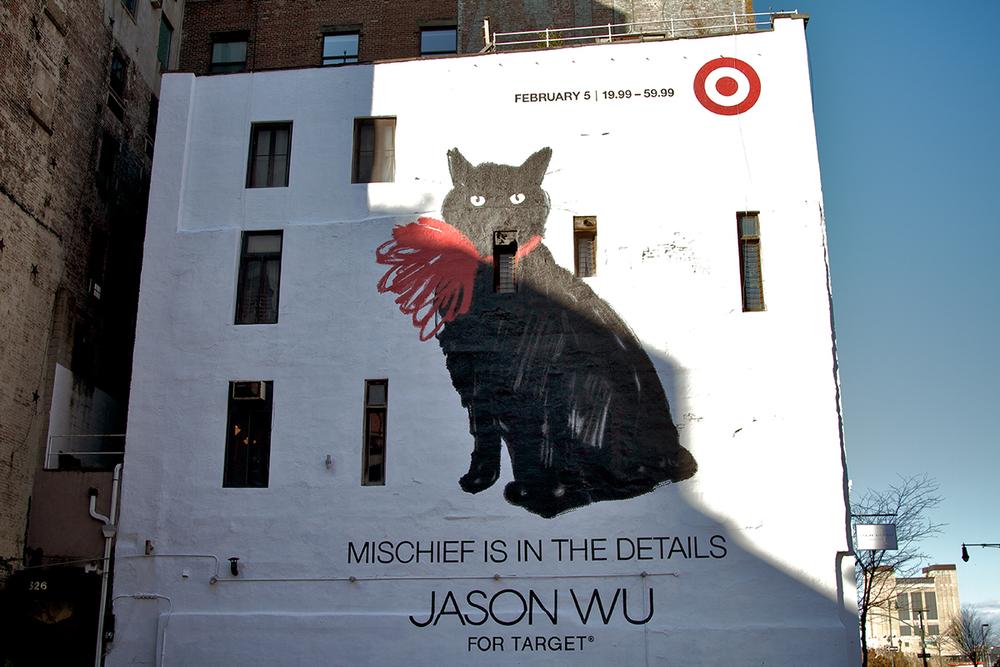 Jason Wu x Target - Teaser Mural