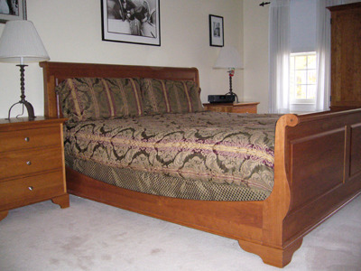 Solid Cherry Beds