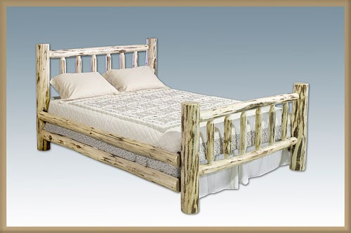Lodge Pole Pine Skip Peel Bed