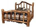 Kodiak Aspen Log Bed
