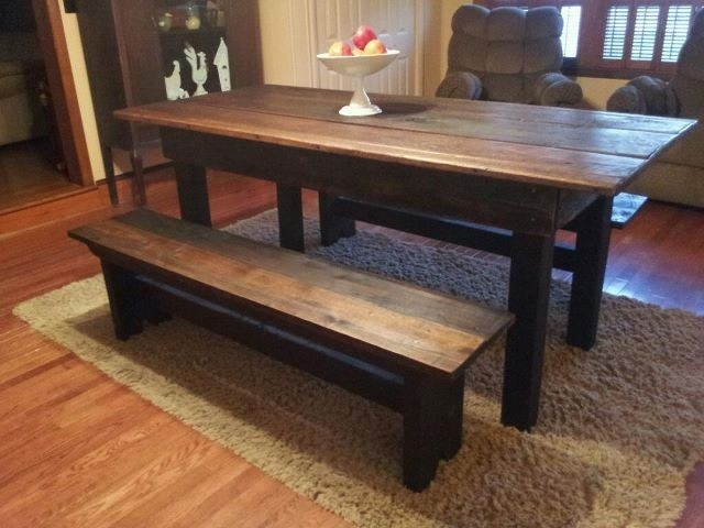 old dining room barn wood dining room table