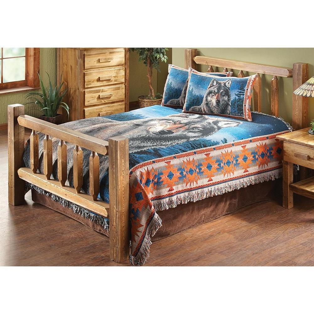 Homestead Timber Bed