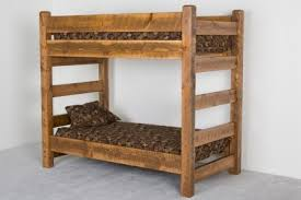 Norway Pine Barnwood Bunk
