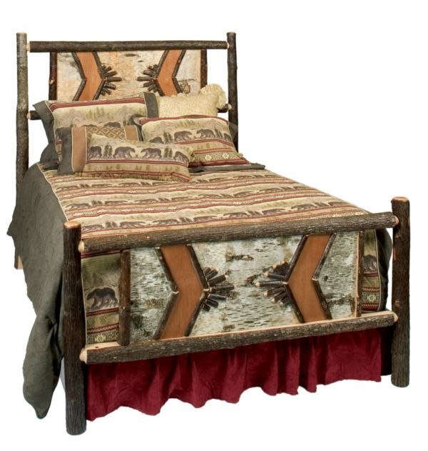 Adirondack Traditional Bed