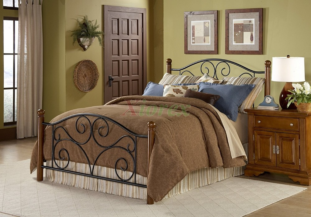 rustic iron headboards rustic iron metal cozy cabin rustics king size bed