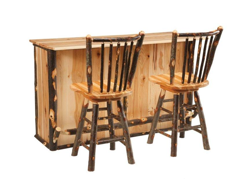Amish Furniture Rustic Hickory Bar.jpg