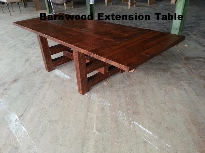 Extension Leaf Timber Table