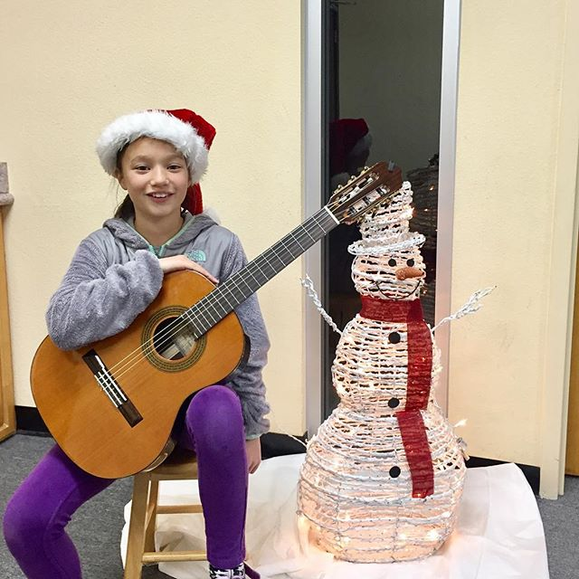 Happy Holidays from everyone at the California Conservatory of Guitar!