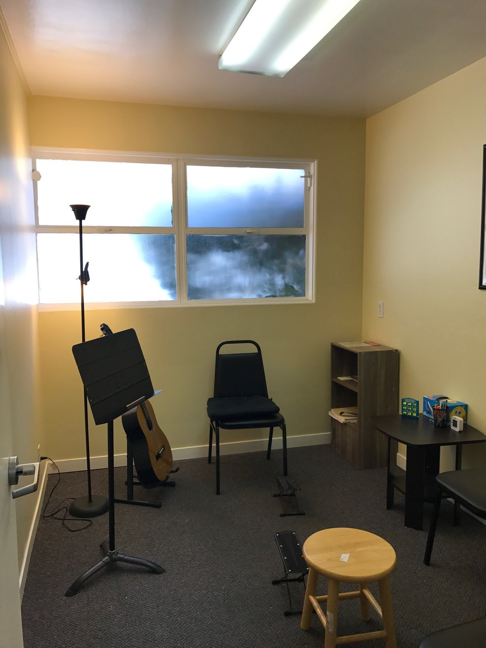 Guitar teaching studio