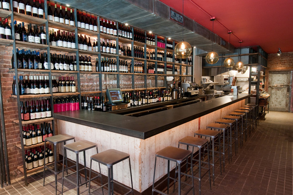 Terroir | Tribeca Front Room, bar view