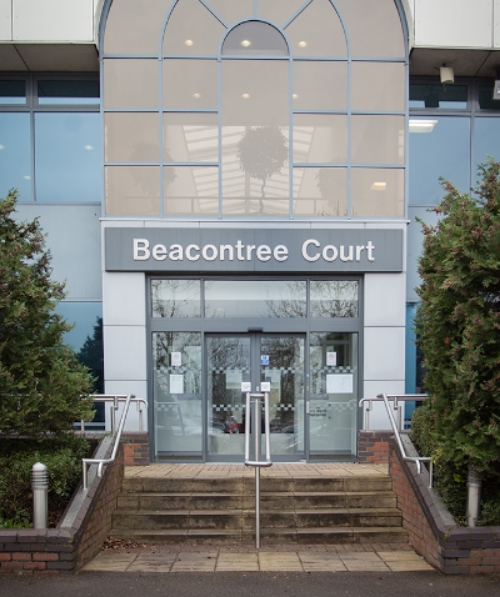 Beacontree Court is at the far end of the Car Park from the Entrance barriers.