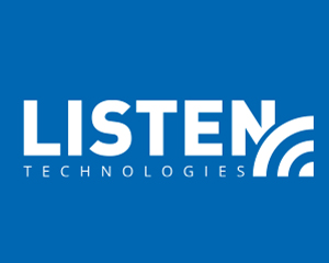 Listen Technologies manufacturers a diverse line of assistive listening and translation communication equipment and systems including RF, IR and Loop.    www.listentech.com