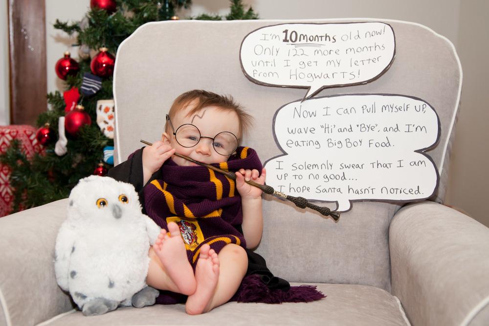 Rosanio Photography | {Harry Potter} Superhero Monthly Photos | Massachusetts Family Photographer