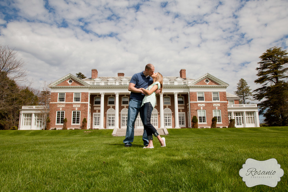 Rosanio Photography | Stonehill College Engagement Photography | Massachusetts Engagement Photos