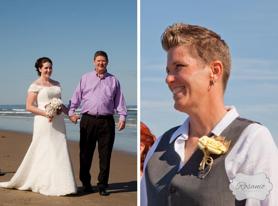 Rosanio Photography | Ogunquit Maine Beach Wedding