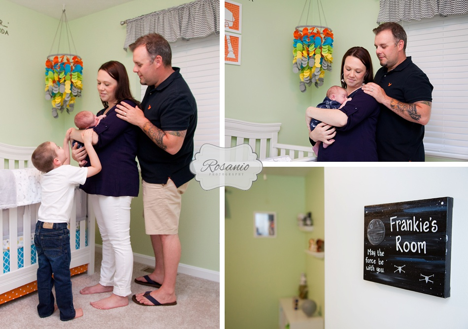Rosanio Photography | Star Wars Nursery | New Hampshire Family Photographer