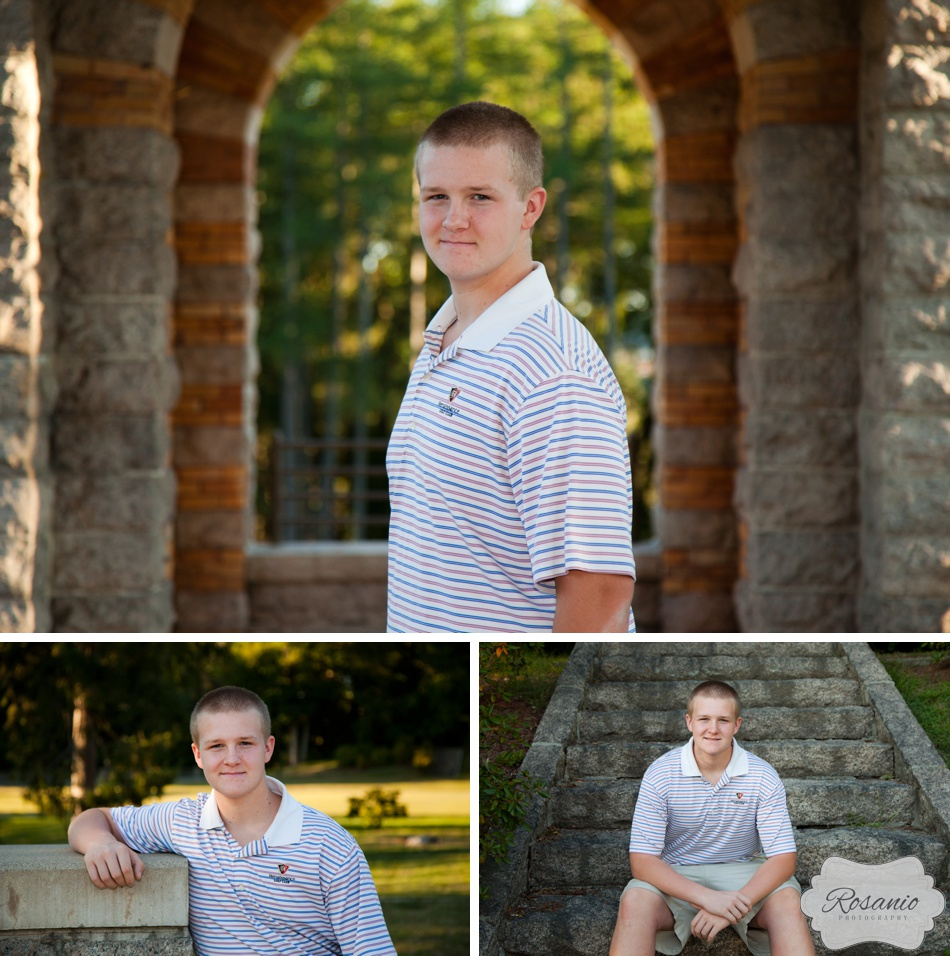 Rosanio Photography | Greycourt State Park, Methuen MA| Massachusetts Senior Photographer