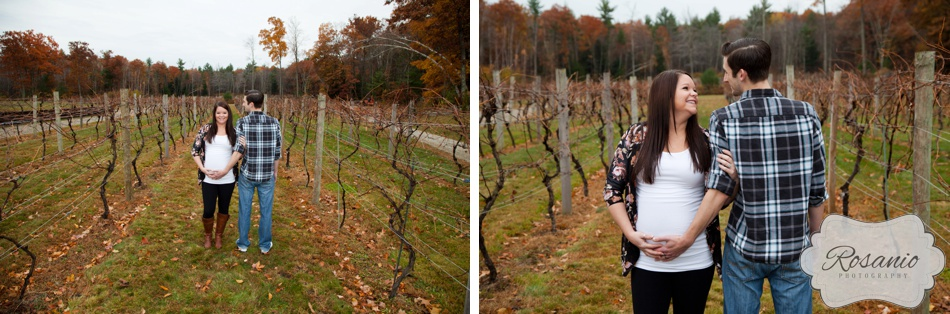 Rosanio Photography | Zorvino Vineyards | New Hampshire Maternity Photographer