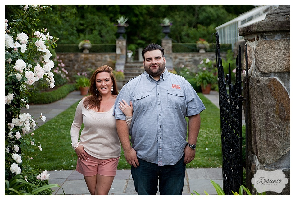 Rosanio Photography | Massachusetts Engagement Photographer | Stevens-Coolidge Place Engagement Session_0016.jpg