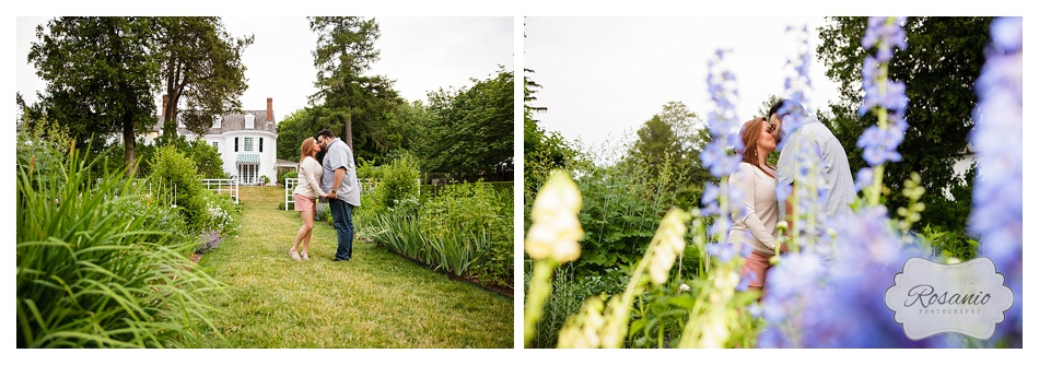 Rosanio Photography | Massachusetts Engagement Photographer | Stevens-Coolidge Place Engagement Session_0023.jpg