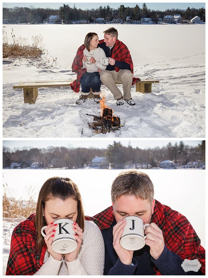 Rosanio Photography | Camp Otter Engagement Session | New Hampshire Wedding Photographers_0006.jpg