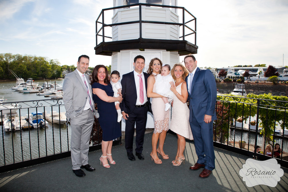 Rosanio Photography | Danversport Yacht Club Christening | Massachusetts Event Baptism Christening Photographer