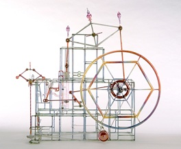 "Amazing Kinetic Engine #2, 32"" x 35"" x 12"""