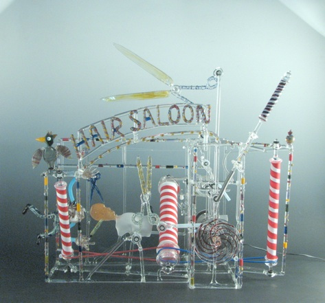 """Hair Saloon""  245 x 24 x 24"""