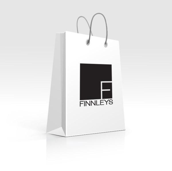 finnleys good findings shopping bag