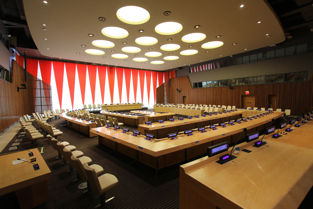 United Nations ECOSOC Council Chamber
