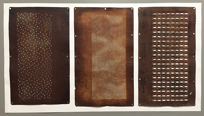 2. Vintage textile stencils