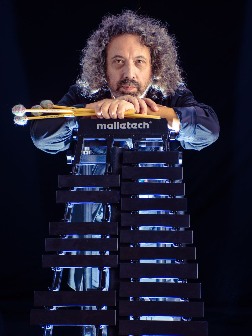 """Tony Miceli - Internationally renowned vibraphonist Tony Miceli has been performing steadily on the jazz scene since 1980. In All About Jazz, Vic Schermer describes him as ... """"a vibraphonist of astonishing virtuosity, musical resilience, and inventiveness. His vibes playing is nothing short of phenomenal.""""Tony is also the founder of www.vibesworkshop.com.Tony endorses: Malletech, Mike Balter, Alternate Mode, Beiner Bags"""
