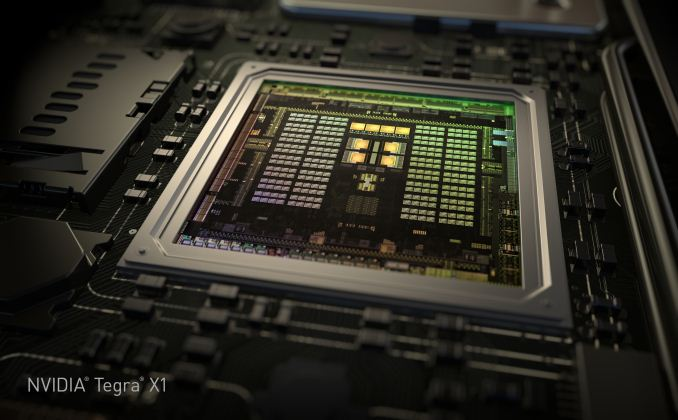 The Tegra X1 chip was announced at CES