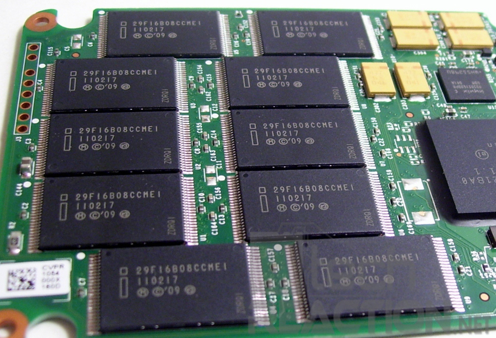 These are NAND chips the key component in a SSD.
