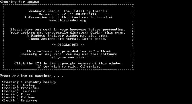 PC Tools Weekly: JunkWare Removal Tool By Malwarbytes \u2014 Tekspecz.com