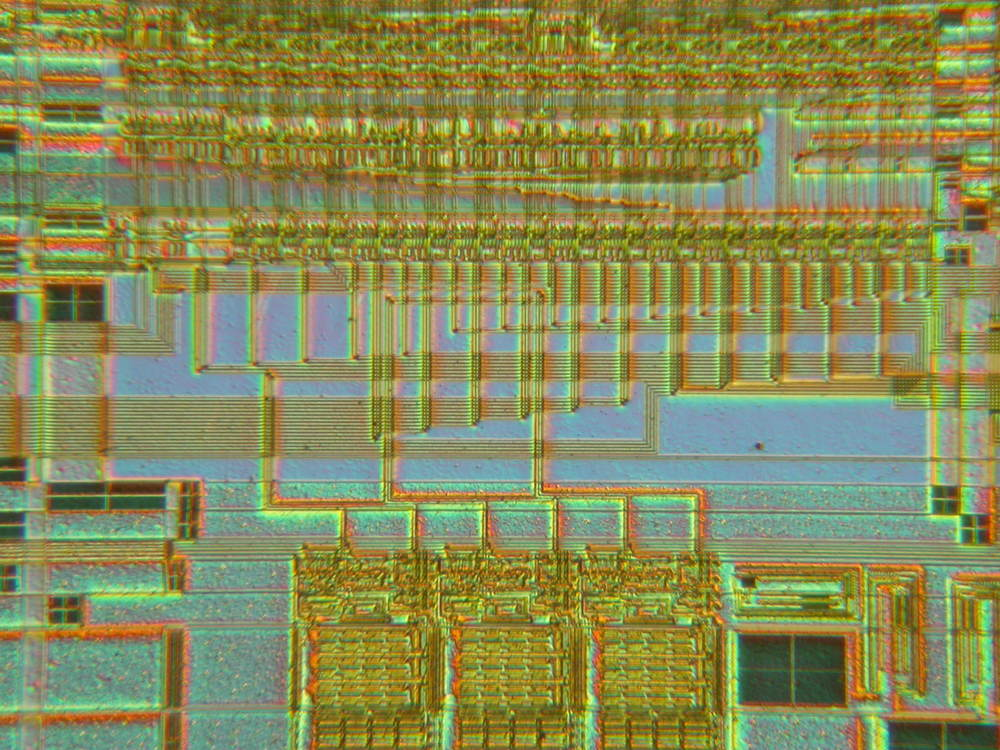 Inside the complex circuitry of the actual processor