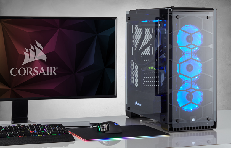 Corsair S Crystal Series 570x Full Tempered Glass Pc Case
