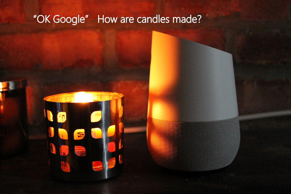Capturing the calm soothing moment, Oh Yes, there is Google Home.